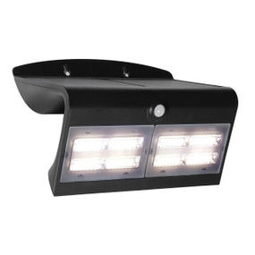 Solar Flood Light - LED With Sensor 6.8W 3000K