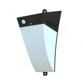 Solar Wall Light With Motion Sensor - Tapered, Over 8 Hours Light