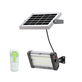 Solar Flood Light With Remote Control - 1500lm IP65 5000K 152mm Commercial Strength