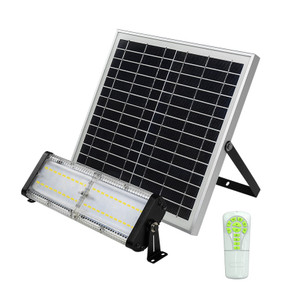 Solar Flood Light With Remote Control - 5000lm IP65 5000K 350mm Commercial Strength