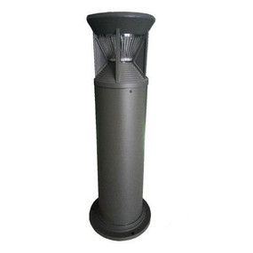 Solar Bollard Light - 300lm IP44 Dual Colour 800mm Black Industrial Grade