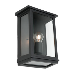 Wall Light - Marine Grade E27 60W IP44 300mm Black
