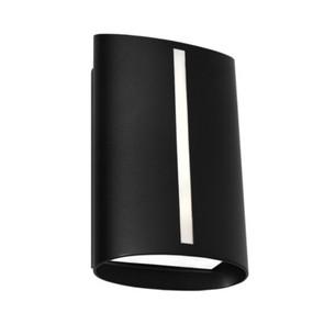 Wall Light - Marine Grade Classy Vertical  3000K 400lm 8W Black