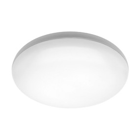 Oyster Light - Smooth Rounded 3000K 1300lm 16W White