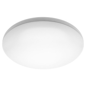 Oyster Light - Smooth Rounded 3000K 1600lm 27W White