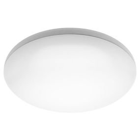 Oyster Light - Smooth Rounded 5000K 1800lm 27W White
