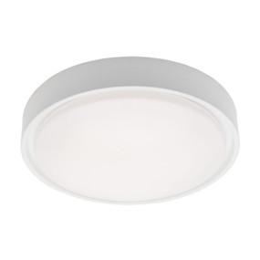 Oyster Light - Stylish Circular 3000K 1200lm 16W White