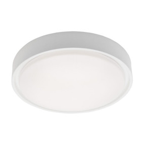 Oyster Light - Stylish Circular 5000K 1300lm 16W White
