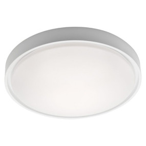 Oyster Light - Stylish Circular 3000K 1450lm 27W White