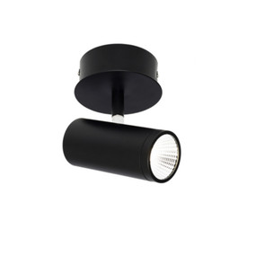 Ceiling Light - Adjustable LED Spotlight Black C100