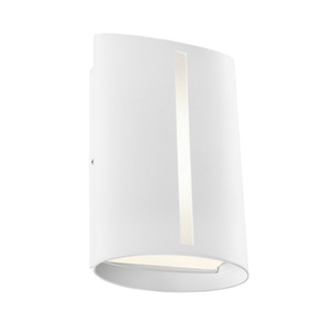 Wall Light - Marine Grade Classy Vertical  3000K 400lm 8W White