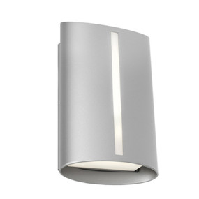 Wall Light - Marine Grade Classy Vertical  3000K 400lm 8W Silver