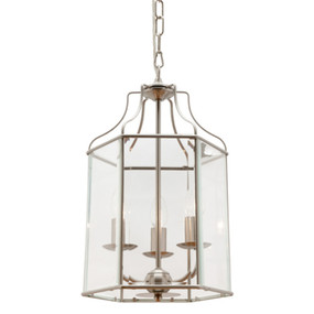 Pendant Light - Gothic Cage 40W Chrome