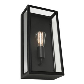 Wall Light - Marine Grade 240V E27 60W IP44 400mm Black