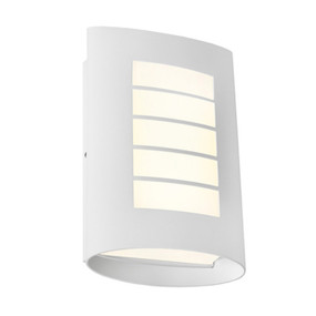 Wall Light - Marine Grade Vertical 3000K 400lm 8W White