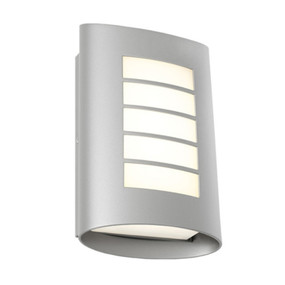 Wall Light - Marine Grade Vertical 3000K 400lm 8W Silver