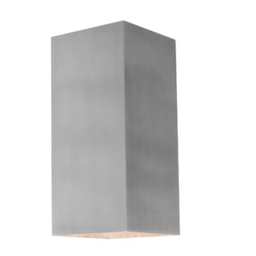 Up Down Light - 240V Marine Grade Aluminium 3000K 200mm 250lm Silver