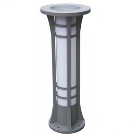 Solar Bollard Light - 300lm IP44 Dual Colour 800mm Black Commercial Grade