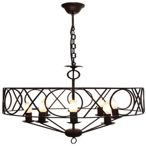 Pendant Light - Gothic 8 Lights 40W Rustic