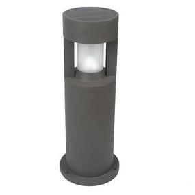 Solar Bollard Light - 300lm IP44 Dual Colour 800mm Black Industrial Strength