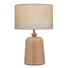 Table Lamp - Modern Stylish 60W Timber
