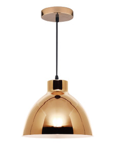 Pendant Light - Chic Dome 60W Gold