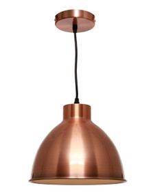 Pendant Light - Chic Dome 60W Copper