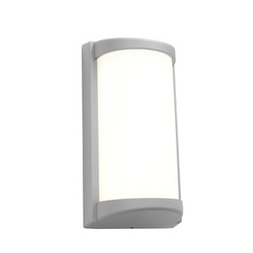Outdoor Wall Light - Chic Cylindrical 3000K 427lm 10W Silver