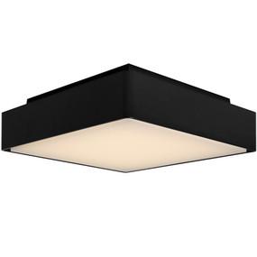 Oyster Light - Marine Grade Square 3000K 1000lm 292mm 16W IP65 Black