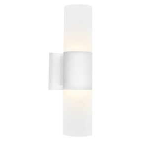 Up Down Light - Marine Grade Modern Cylinder 3000K 410lm White
