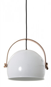 Pendant Light - Dome Hanging 300mm 25W White