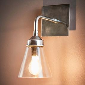 Indoor Wall Light - Industrial Sleek 260mm Antique Silver