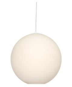 Pendant Light - Modern Hanging 1 Light 440mm 60W Opal Glass