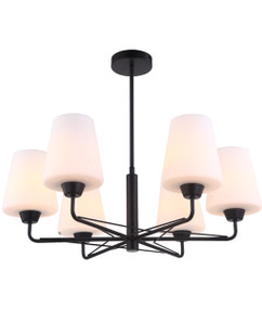 Pendant Light - Industrial Sleek 530mm 72W Matt Black