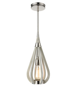 Pendant Light - Hanging Tear drop 394mm 60W Winter Moss