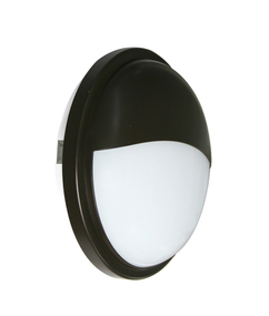 Bunker Light - Chic Rounded 5000K 1600lm 225mm 20W Black