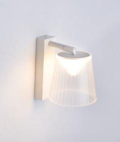 Indoor Wall Light - Elegant Clear Adjustable 5000k 480lm 180mm 6W White