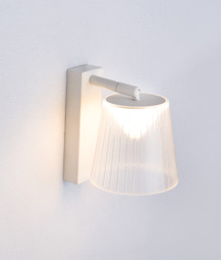 Indoor Wall Light - Elegant Clear Adjustable 3000k 402lm 180mm 6W White