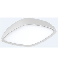 Oyster Light - Modern Shaped 3000K 920lm 60mm 10W White