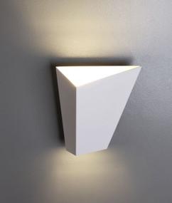 Indoor Wall Light - Sleek Angular 3000K 469lm 12W  Sand White