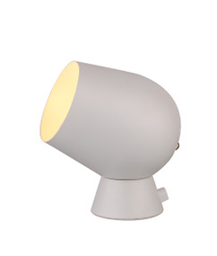 Touch Lamp - Smooth Unique Shaped 175mm 25W White