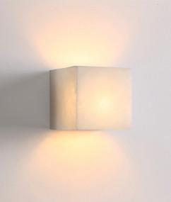 Up Down Light - Modern Box 3000K 500lm 3.5W Alabaster