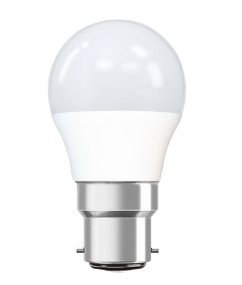 B22 Fancy Globe - Rounded 3000K 235lm 80mm 3W White