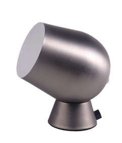 Touch Lamp - Smooth Unique Shaped 175mm 25W Pewter