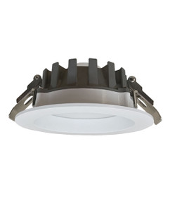 LED Downlight - Dimmable 13W 1170lm IP44 Tri Colour 125mm White Commercial Grade