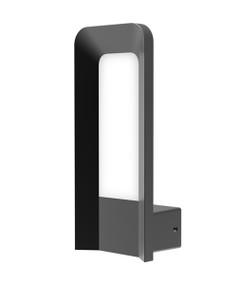 Outdoor Wall Light - Sleek Vertical 3000K 175lm 280mm 9W Dark grey