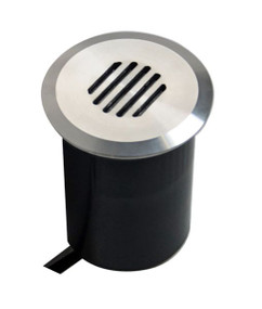 Ground Light - 12V  Marine Grade 316 Stainless Steel MR16 20W IP67 105mm