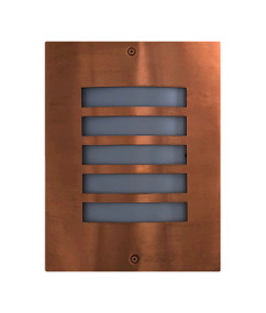 Outdoor Wall Light - Modern Grilled 280mm 60W Copper