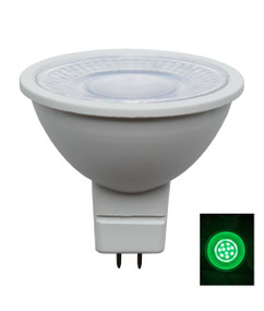 MR16 Green Globe - Round 12V 50lm 46mm 5W