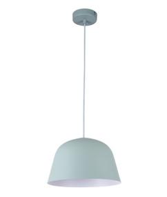 Pendant Light - Modern High Dome 155mm 40W Matte Green